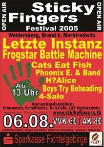 Sticky-Fingers-Festival 2005